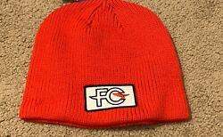 New Patagonia FCD Anvil Patch Beanie Red Fletcher Chouinard Designs
