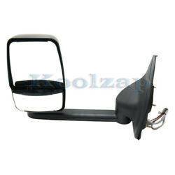 99-05 F-super Duty And Excursion Long Arm Rear View Towing Mirror Power Left Side