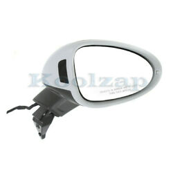 15-18 Macan Rear View Door Mirror Power W/blind Spot And Signal Light Right Side