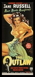 The Outlaw ✯ Cinemasterpieces Australian Movie Poster Sexy Jane Russell 1950