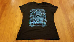 Terry Davidson And The Gears Shirt Ladies Xl Blues Rock N Roll 1984 Columbus Ohio