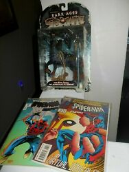 Spawn Dark Ages The Raider 1988 New And 2 Marvel Spider-man Comic Books Vg