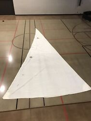 Hank-on Jib Genoa Sail - Luff = 35and0395 Foot =17and0393 Leach = 35and0397