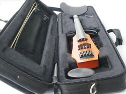 NS Design CR4 4-String Electric Violin w Performance Bow CodaBow Joule