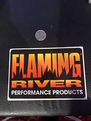 Flaming River Steering Systems Largest Sticker Street Hot Rod Chevy Dodge Ford