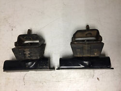 1965 66 High Performance Ford Mustang Shelby 289 Motor Mounts