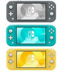 Nintendo Switch Lite 32gb Handheld Video Game Console - New
