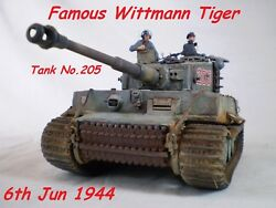 1/35 Built Famous Wittmannand039s Tiger I Late W/zimmerit - Built 1/35