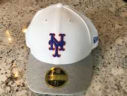 New New York Mets Men's New Era 59fifty Authentic Collection Low Profile Hat