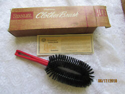 VTG Stanley Home Products Signature Clothes Lint Brush Westfield NOS NIB 3044