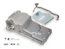 Holley 302-2 Gm Ls Engine Retro-fit Cast And Machined Aluminum Oil Pan