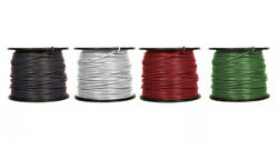 2 Awg Stranded Copper Xhhw-2 Wire Lengths 50 Feet To 1000 Feet