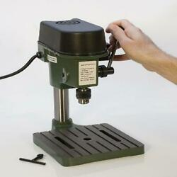 Mini Hobby Drill Press Permanent Magnet Motor Variable Speed Woodworking Tools