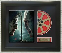 Harry Potter And The Deathly Hallows 2 Framed Reproduction Poster Reel Display