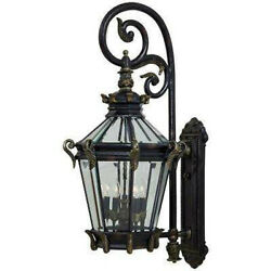 Minka Lavery Stratford Hall 9-Light Heritage Outdoor Wall Lantern Sconce
