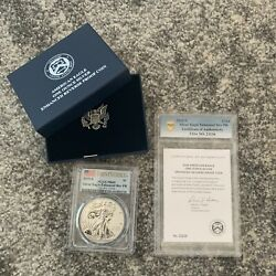 2019-s American Eagle One Ounce Silver Enhanced Reverse Proof Coin Pr69 Pcgs Fs