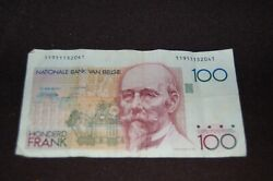 Belgium Banknote 100 Cent Francs X2 = A Pair Of These.