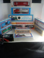 13 Piece Lot Model Power/life-like Model Trains And Accessories