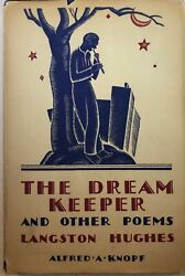 Langston Hughes - The Dream Keeper - Knopf - 1935 - Signed - 3rd Printing