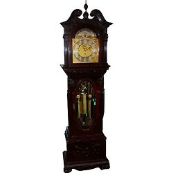 19th Century Tiffany & Co. Weight Driven Grandfather Clock Completely Restored