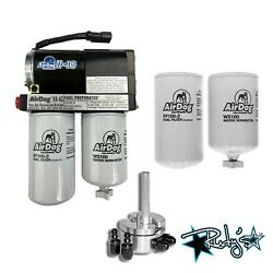 Airdog Ii-4g 100 Gph Lift Pump Extra Filters Sump For 1992-2000 6.5 Chevy Diesel