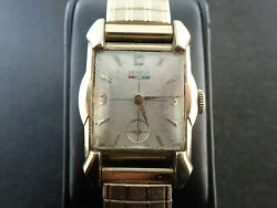Vintage 39.5mm Mens Benrus Wrist Watch And Fancy Casing Cal. Ba2 - Keeping Time