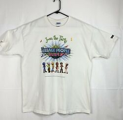 Village People Party Xl Join The Party T Shirt Sustainable Secondhand Fashion