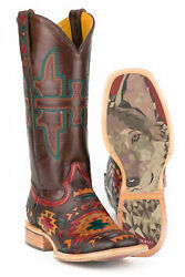Tin Haul Womens Brown Leather South By Sw Cowboy Boots
