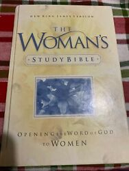 The Womans Study Bible Hard Cover Nelson 1995 New King James