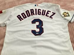 Autograph Mlb Texas Rangers Alex Rodriguez Brand New With Certificate Jersey