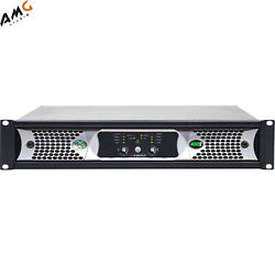 Ashly Nxe4002bd 2x 400 Watts/2 Ohms Network Power Amplifier With Opdante Cards