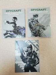 Aeg Spycraft Rpg Soldier/wheelman Class Guide Sc Arms Guide And Folder 3 Items