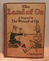 July 1904 Vintage Copy Of The Land Of Oz By Baum Color Plates Hardcover Book