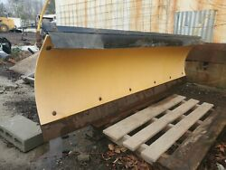 Meyer Snow Plow Used 7.6ft E60 Pump Included Wiring Included Toggle Switch