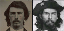 Tintype Believed To Be Bloody Bill Anderson, Jesse James Pal, Confederate Outlaw