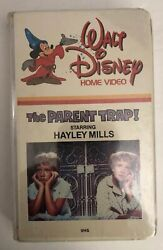 Walt Disney The Parent Trap Vhs Brand New Sealed-supper Rare Vintage Collectible