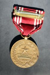 Wwii Us Army Good Conduct Medal Engraved Named, 1945