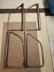 1950 Plymouth Door Trim Molding Passenger And Driver Two Pairs Front And Back