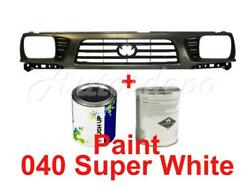 Grille With 040 Super White Paint Fits Tacoma 4wd Sealed Beam Type 1995-1997