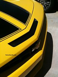 Chevy Camaro Ss Rs Mail Slot Hood Panel Black Out 2010 2011 2012 2013 2014 2015