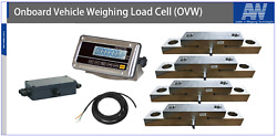 Container Weighing Kit With 4 Load Cells Etc 30tkg20kg