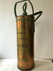 Vintage Fire Extinguisher General Model Quick Aid A-704 Fire Guard 2.5 Gallon
