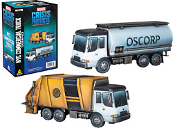 Nyc Commercial Truck Terrain Pack Marvel Crisis Protocol Nib