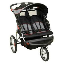 Baby Trend Expedition Swivel Double Jogger Baby Jogging Stroller Millennium New