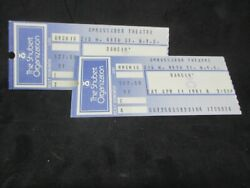 Vintage Ambassador Theater Tickets From New York City