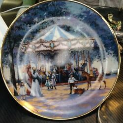 Franklin Mint Carousel Memories By Sandi Lebron Limited Edition Without Papers