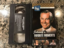 Johnnyandrsquos Favorite Moments Vhs. Johnny Carson Bob Newhart Chevy Chase