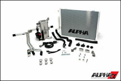 Ams Alpha Performance Supercharger Cooler System For 2012-2018 Audi B8.5 S4/s5