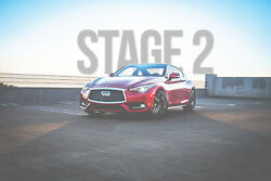 Ams Red Alpha Stage 2 Performance Package For 2016-2019 Infiniti Q60