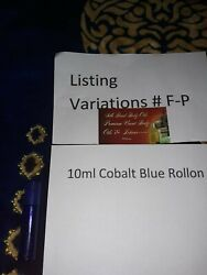 Pick A Cologne/perfume Oil 10ml Blue Rollon Scents Listing Variation F-p